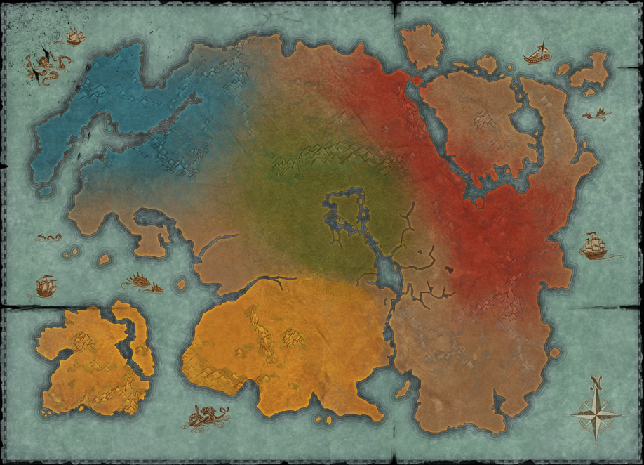 Mappa Alleanze Elder Scrolls Online
