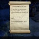 Crumbling Breton Scroll